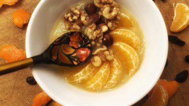 Compote Bowl Clémentine-noix