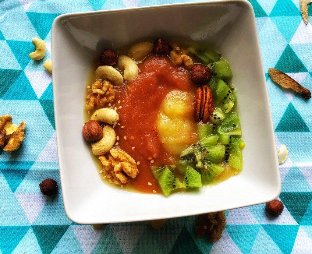 Compote Bowl pomme - fraise - kiwi