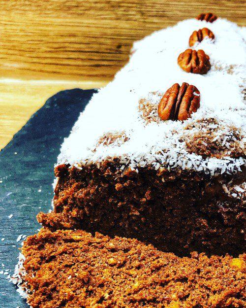 Gâteau chocolat coco sans gluten