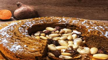 Gâteau à la patate douce sans gluten ni lactose