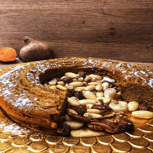 Gâteau à la  patate douce sans gluten