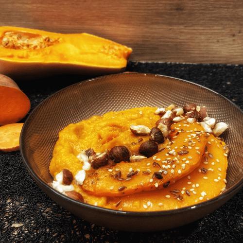 Purée de Butternut et de patate douce