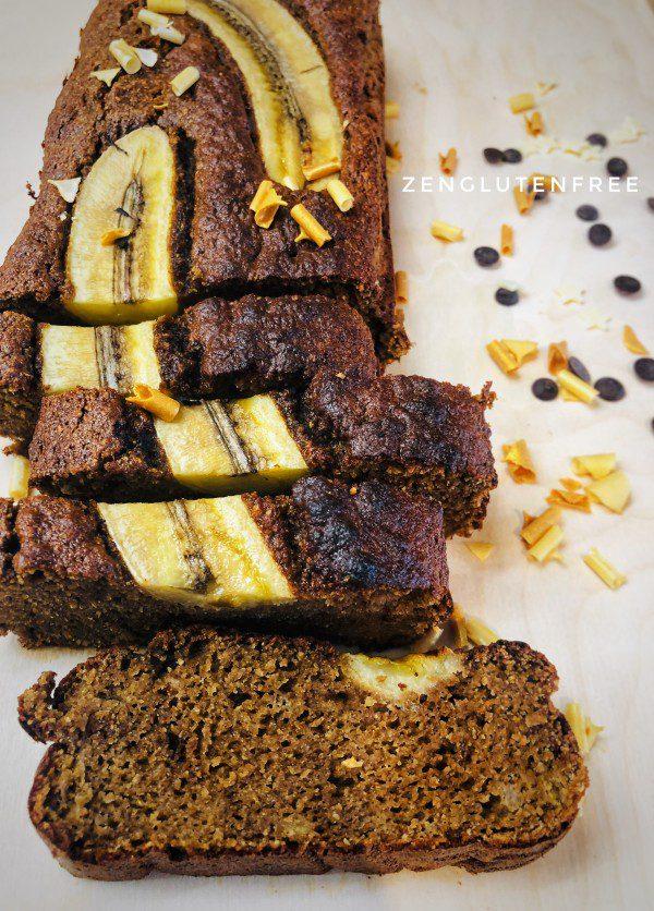 Banana Bread à la farine de coco sans gluten ni lactose