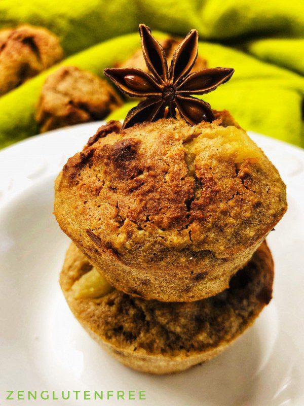 Muffins paléo sans gluten et sans lactose