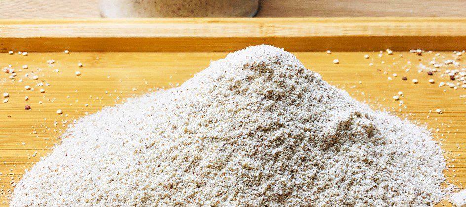 farine de quinoa faite maison