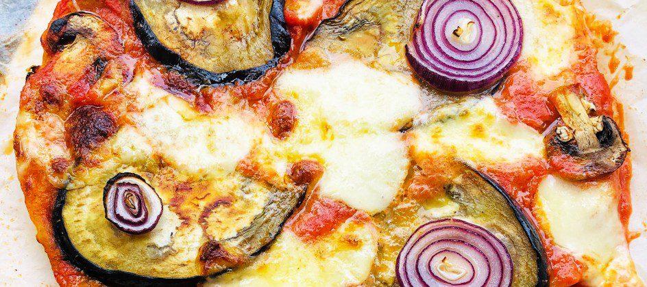 pizza vegetarienne sans gluten