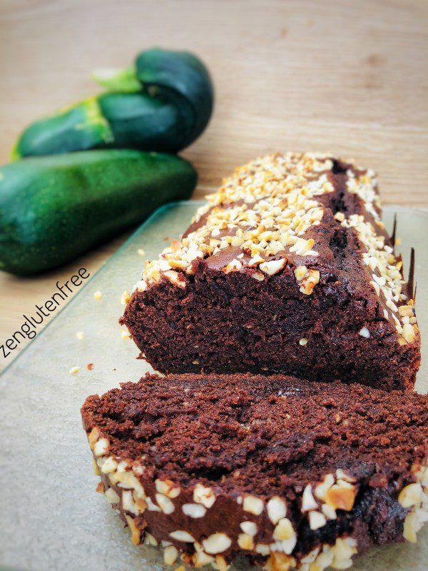 Moelleux chocolat courgette sans gluten