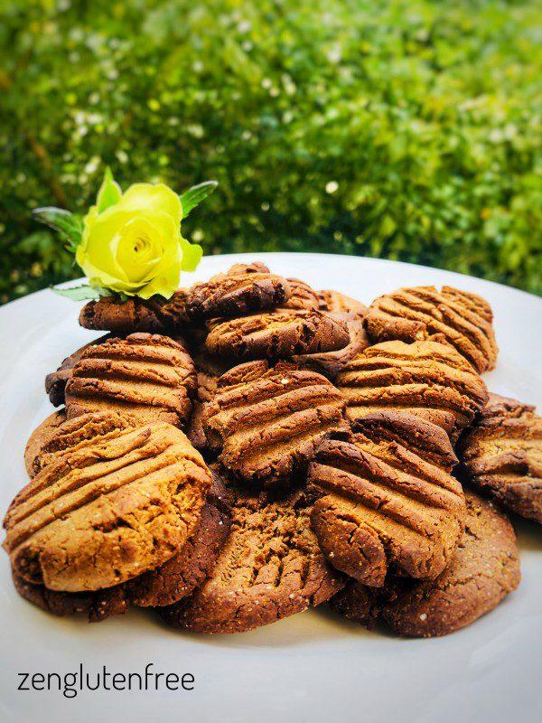 Biscuits vegan à la farine de banane verte