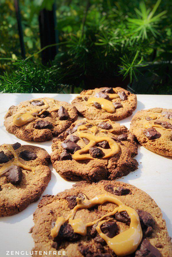 Cookies à la farine de Souchet sans gluten