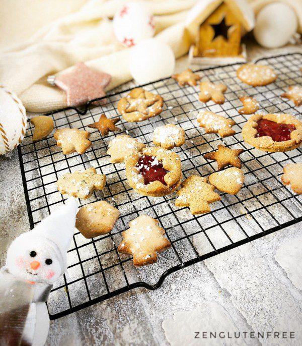 Biscuits au sarrasin sans gluten et sans lactose
