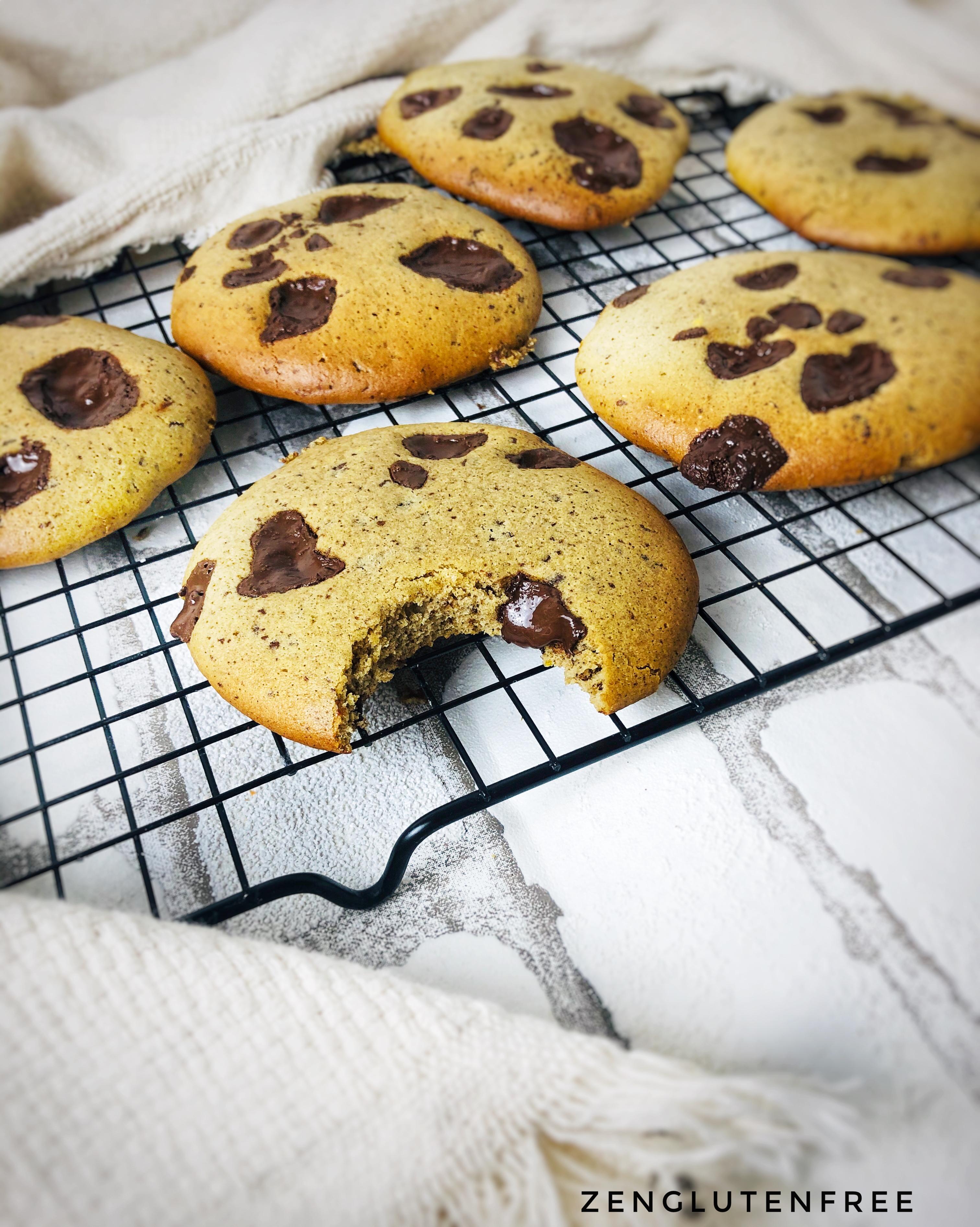 Cookies ultra moelleux sans gluten ni lactose