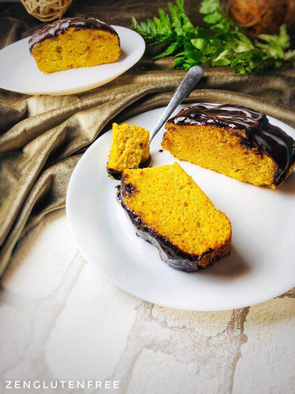 Gâteau moelleux à la butternut sans gluten et sans lactose