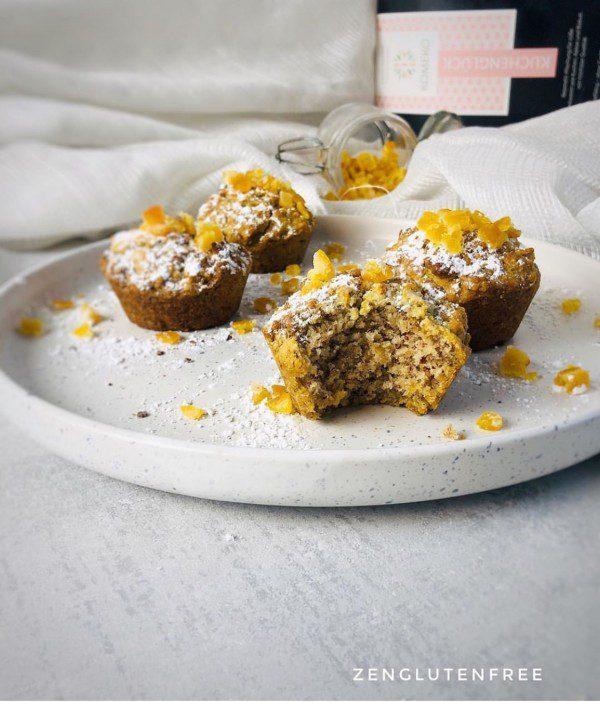 muffins à la noisette sans œufs sans lactose sans gluten