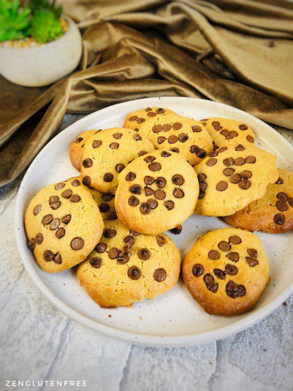 Cookies moelleux sans œufs sans gluten sans lactose