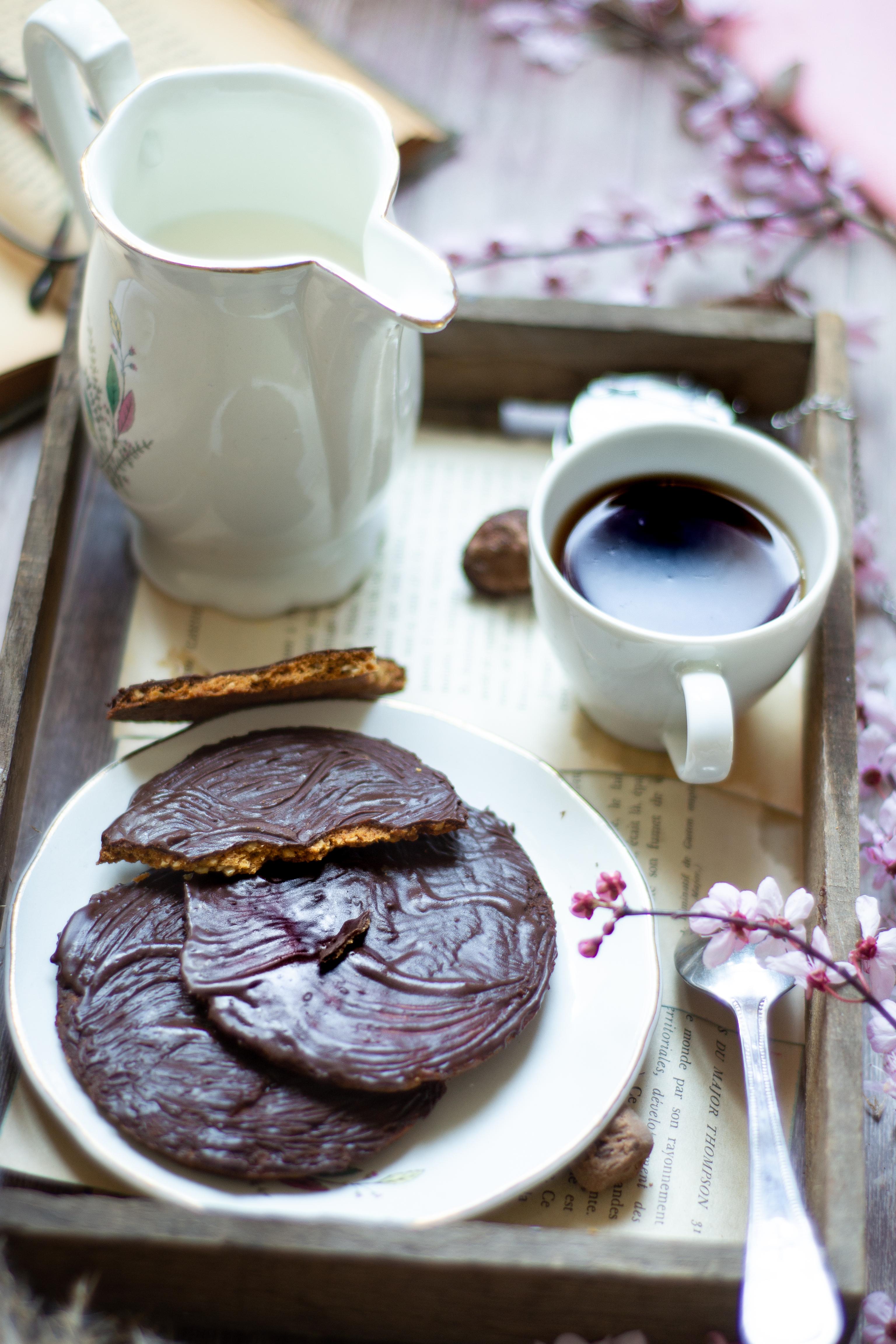 Biscuits granola revisités sans œufs sans gluten et sans lactose