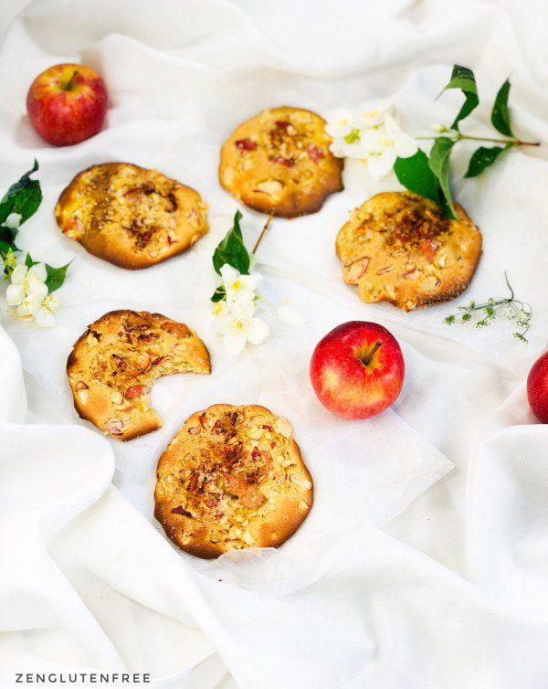 Cookies pomme cannelle sans gluten et sans lactose