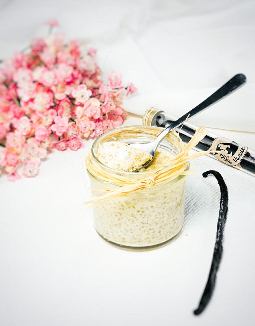 Crème végétale tapioca Vanille