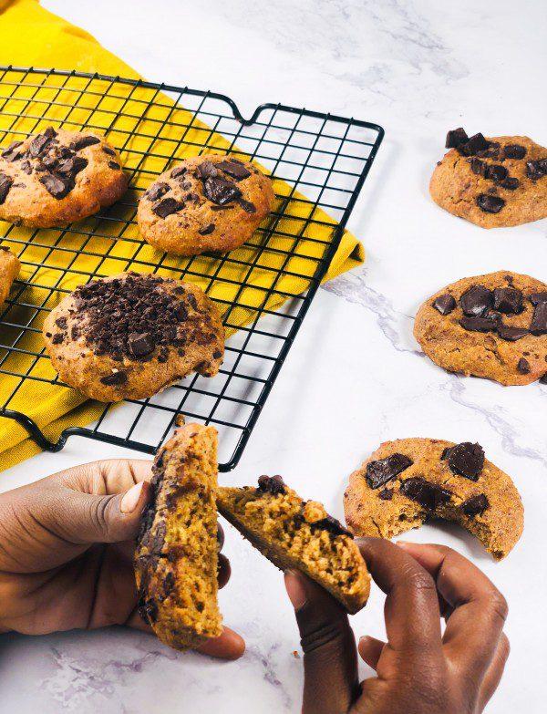 Cookies moelleux amandes sans sucres ajoutés, ig bas, sans gluten, sans lactose