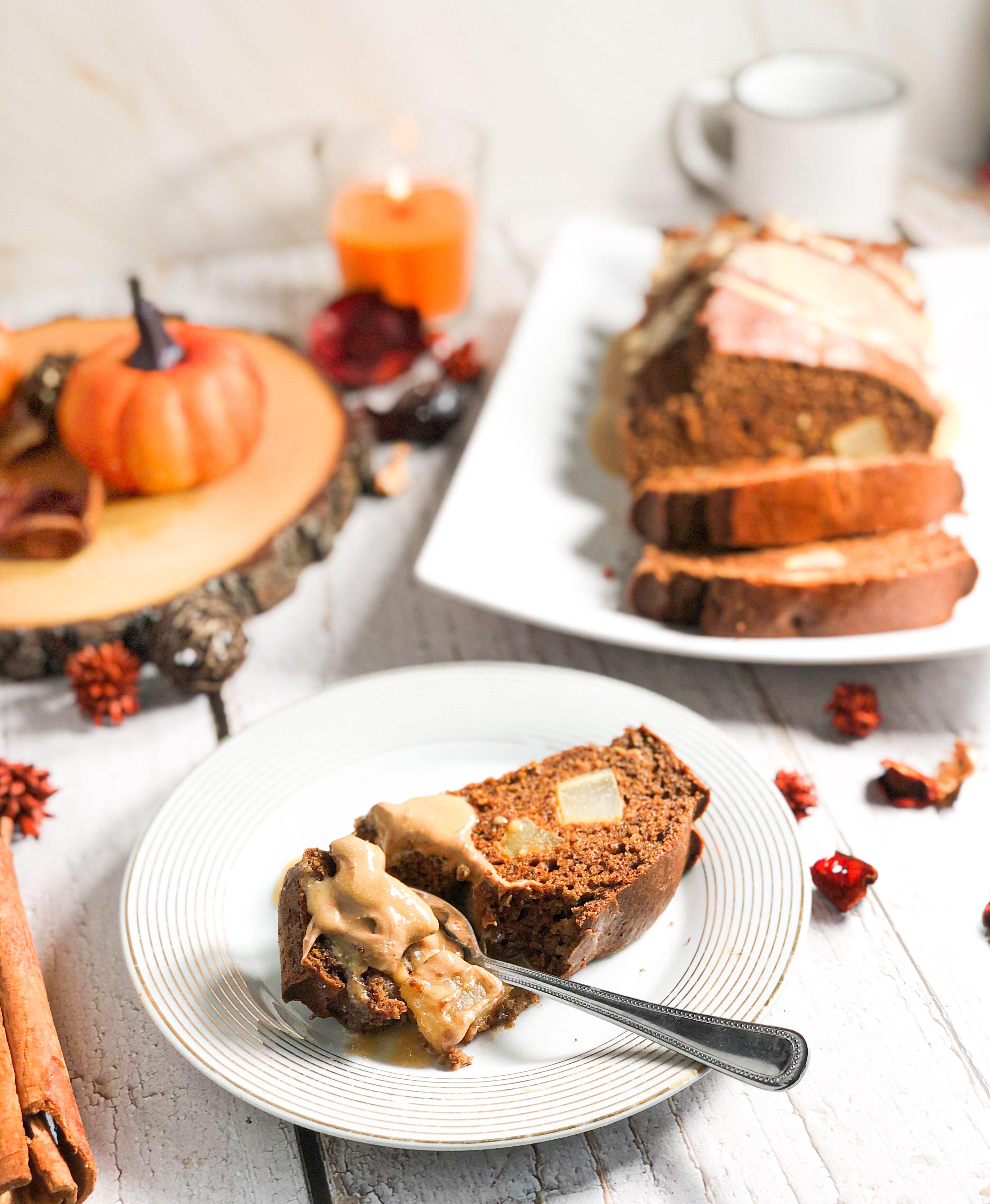 Gâteau poire amandes sans gluten