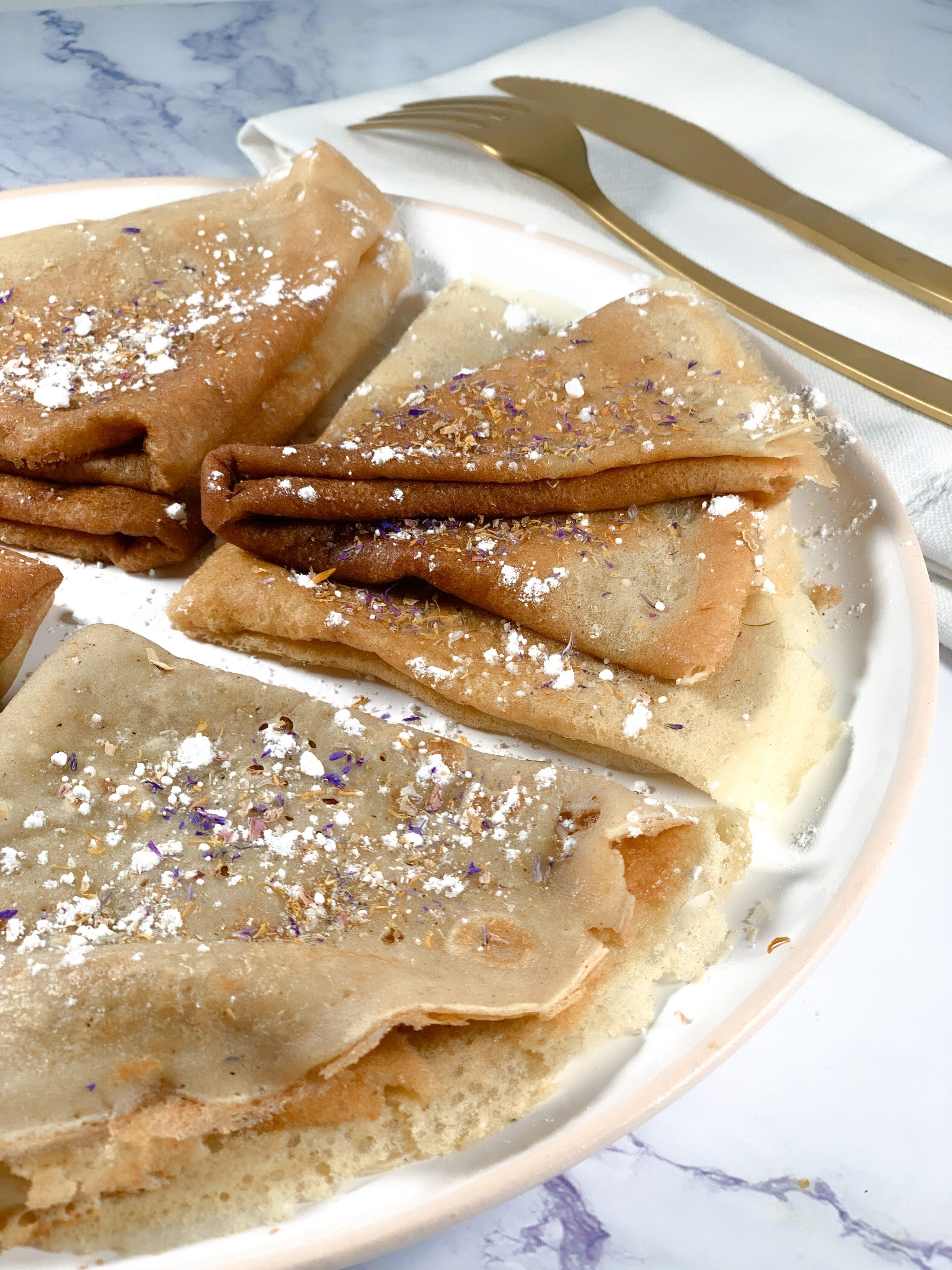 Crêpes de manioc  sans gluten