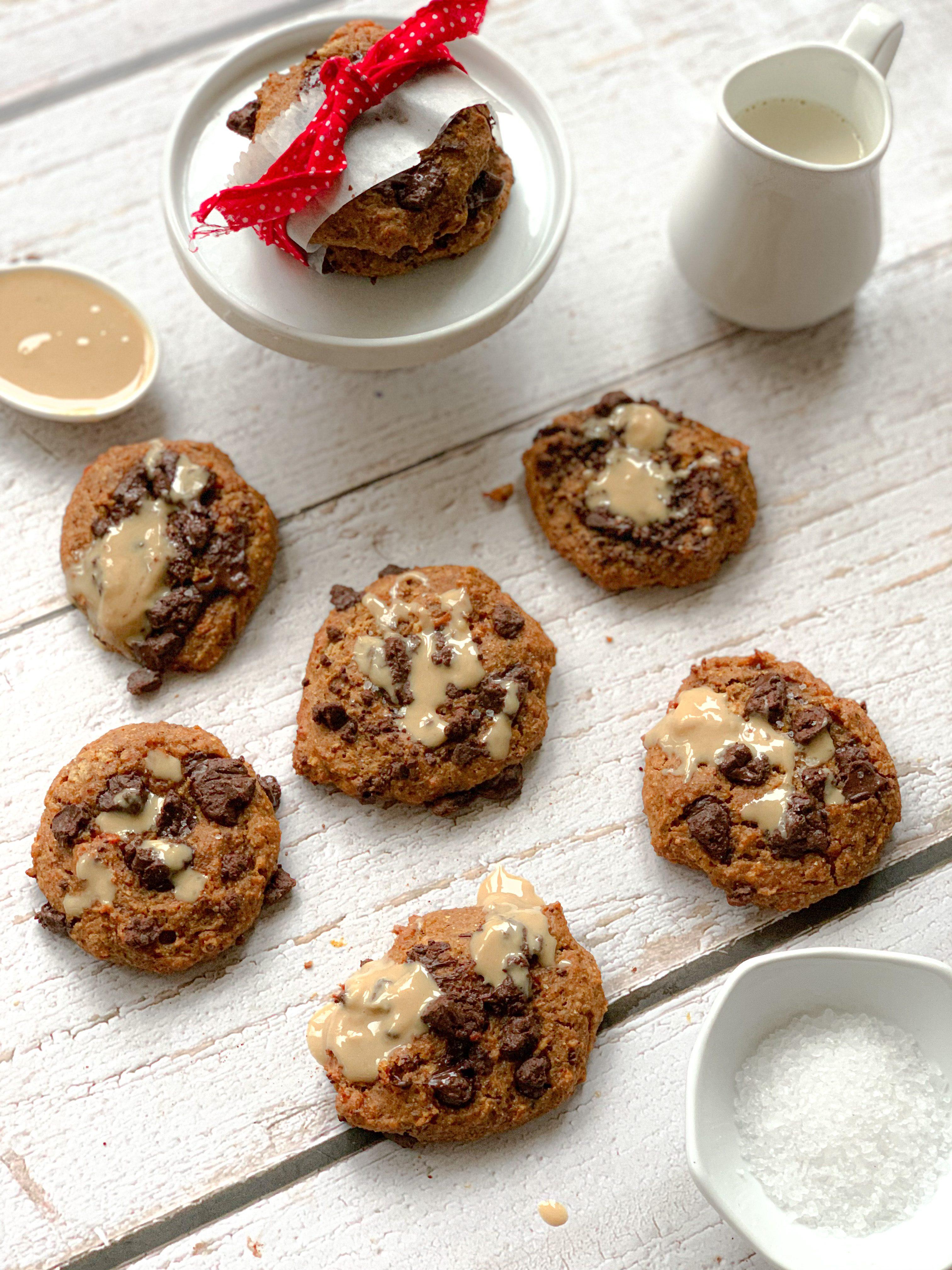 Cookies à la carotte vegan et sans gluten