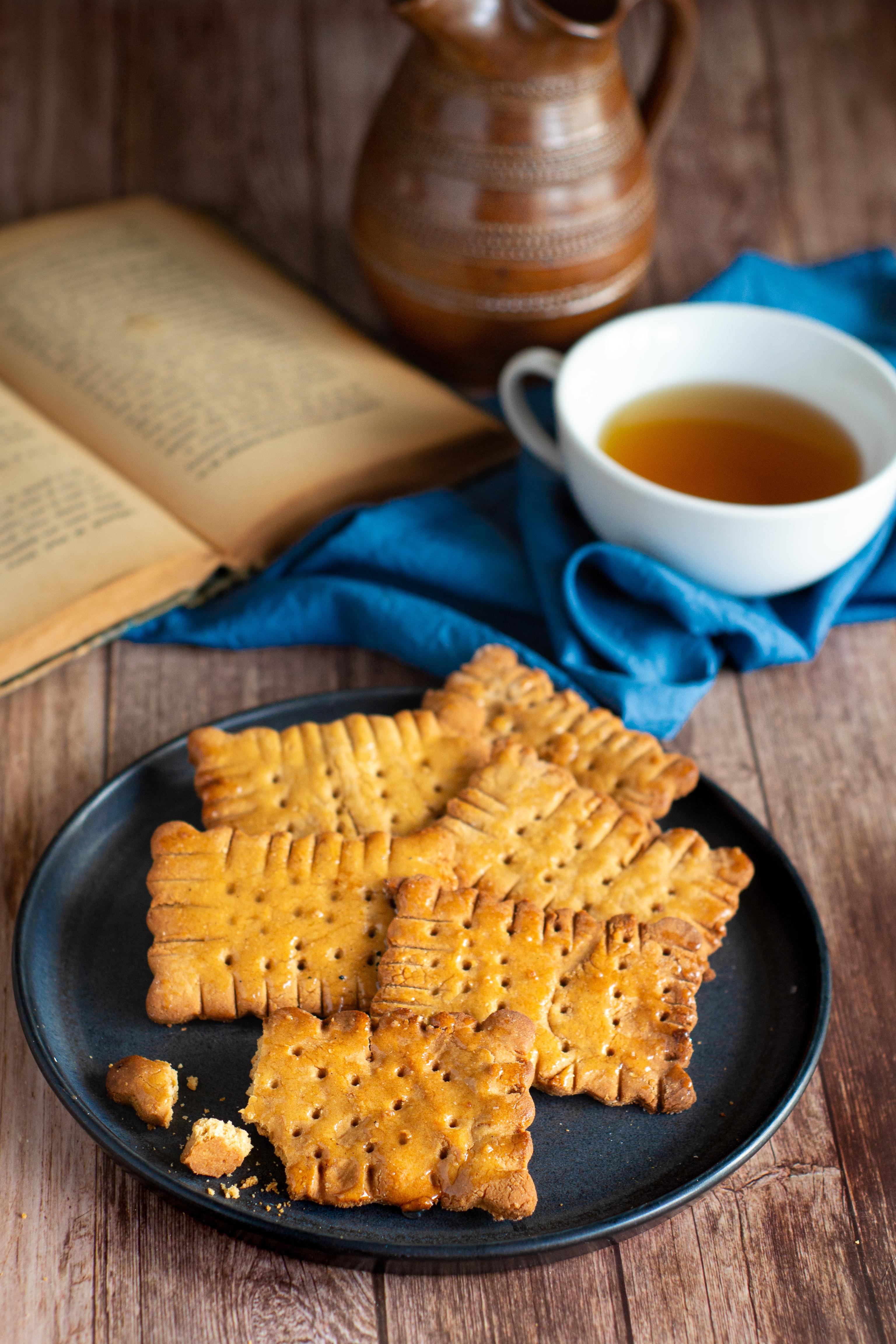 Biscuits sablés sans gluten, végétalien